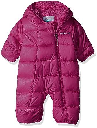 fdec08411 Columbia Unisex Baby Infant Frosty Freeze Bunting, Cactus Pink Emboss, 3/6
