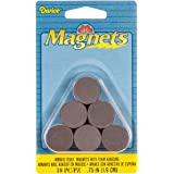 Darice MMAFG-12557 18-Piece Round Magnet with Foam Adhesive