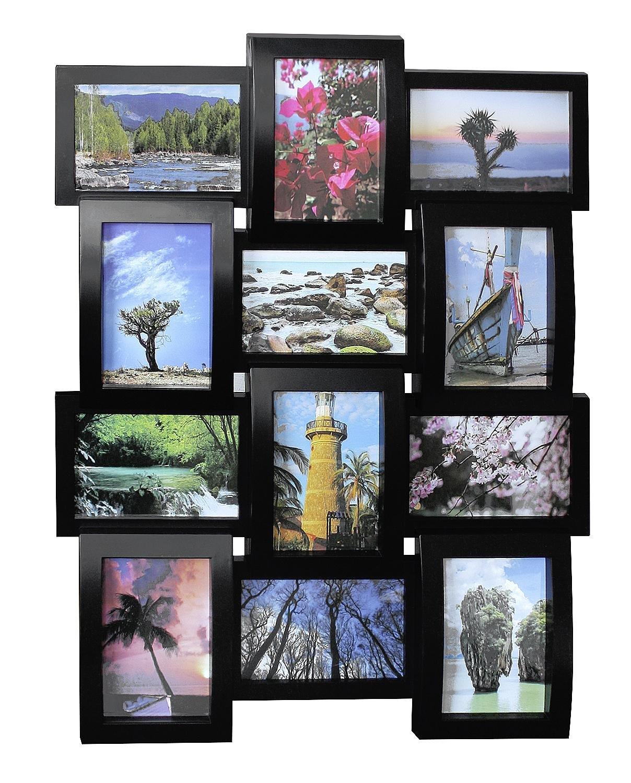 Close Up 3D Fotorahmen für 12 Fotos- plastischer Qualität Collage ...
