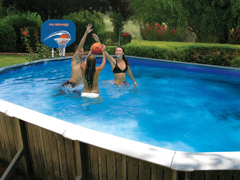 Poolmaster 72784 Pro Rebounder Poolside Basketball Game with Bracket Mounts by Poolmaster (Image #2)