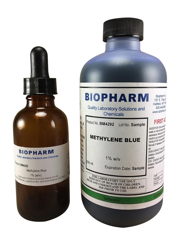 Methylene Blue 1% Aqueous Solution, 250 mL