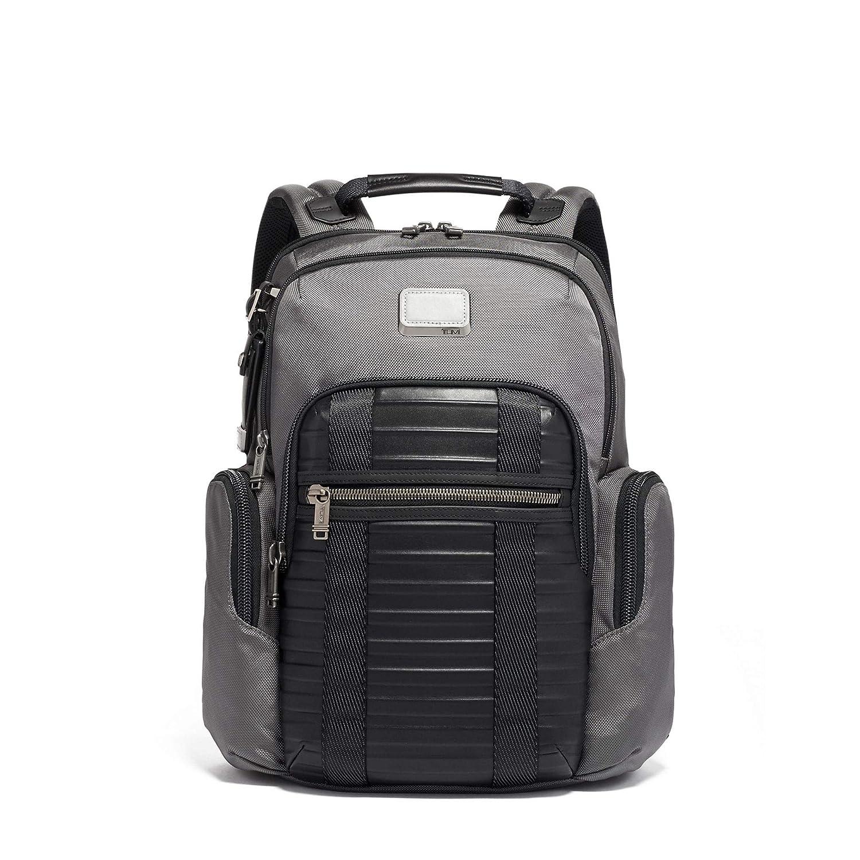 (トゥミ) TUMI Unisex Business Backpack 男女共用ビジネスバックパック (並行輸入品) One Size Grey/Embossed B07P7KPV6T