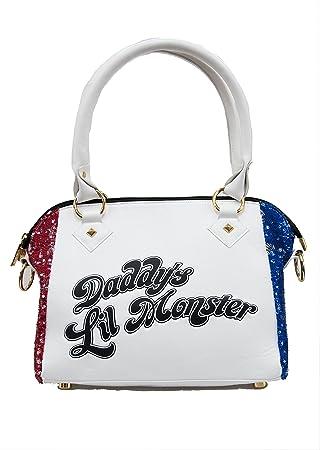 249bfbfe21 DC Comics Harley Quinn Suicide Squad Daddy's Lil Monster Handbag ...