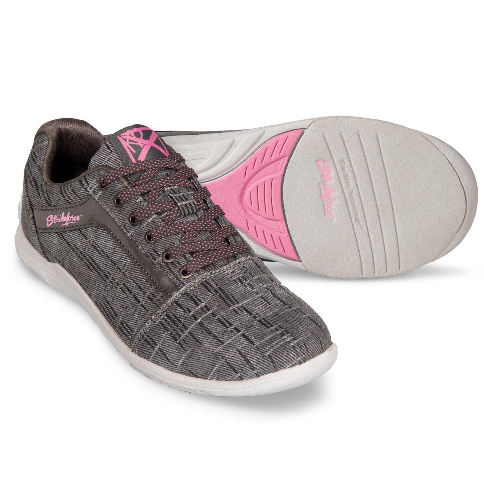KR Nova Lite Ladies Ash/Hot Pink Wide Size 6 by KR Strikeforce