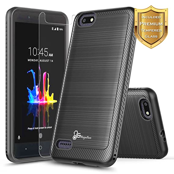 Amazon.com: ZTE Blade Force Funda con [Protector de Pantalla ...
