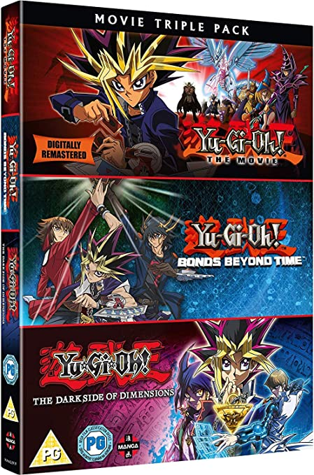 Yu-Gi-Oh! Movie Triple Pack [Reino Unido] [DVD]: Amazon.es: Eric Stuart, Scottie Ray, Frank Frankson, Amy Birnbaum, Tara Jayne, Maddie Blaustein, Dan Green, Matthew Charles, Greg Abbey, Sean Schemmel, Ted Lewis, Tom Wayland,