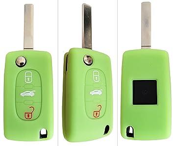 CK + Citroen funda llave de coche Funda Silicona para C1 C2 C3 C4 Grand Picasso