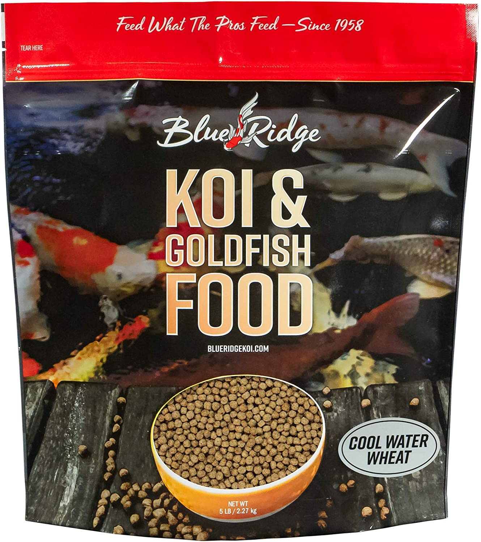 Blue Ridge Fish Food, Cool Water Wheat Formula Floating 3/16