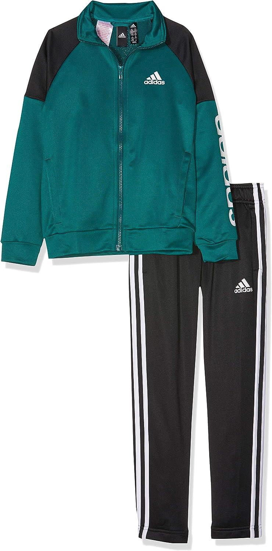 adidas Y Linear TS Ch Chándal, Verde Top: Noble Green/Lack, 128 ...