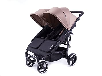 6a8baf4c1 Danielstore - NUEVA SILLA GEMELAR Easy Twin 3.0.S de paseo Baby Monster -  Color TAUPE + REGALO BARRA GEMELAR: Amazon.es: Bebé