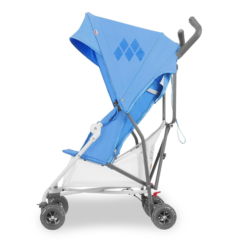 verstellbarer Sitz kompakt einh/ändig zusammenklappbar 4-Rad-Federung ausziehbare Haube ausziehbares Verdeck Superleicht Maclaren Mark II Style Set Buggy Zubeh/ör in der Box