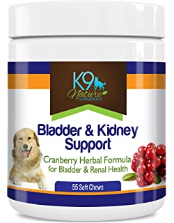 Bladder Support for Dogs - Dog Bladder Control Pills are A Natural Cranberry Supplement for Dog