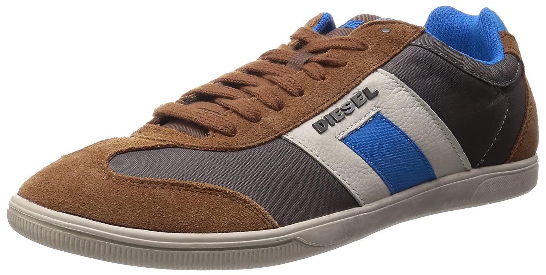 Diesel Vintagy Lounge Herren Sneaker Farbe Toffee/Silver Mink Gr. EU 42
