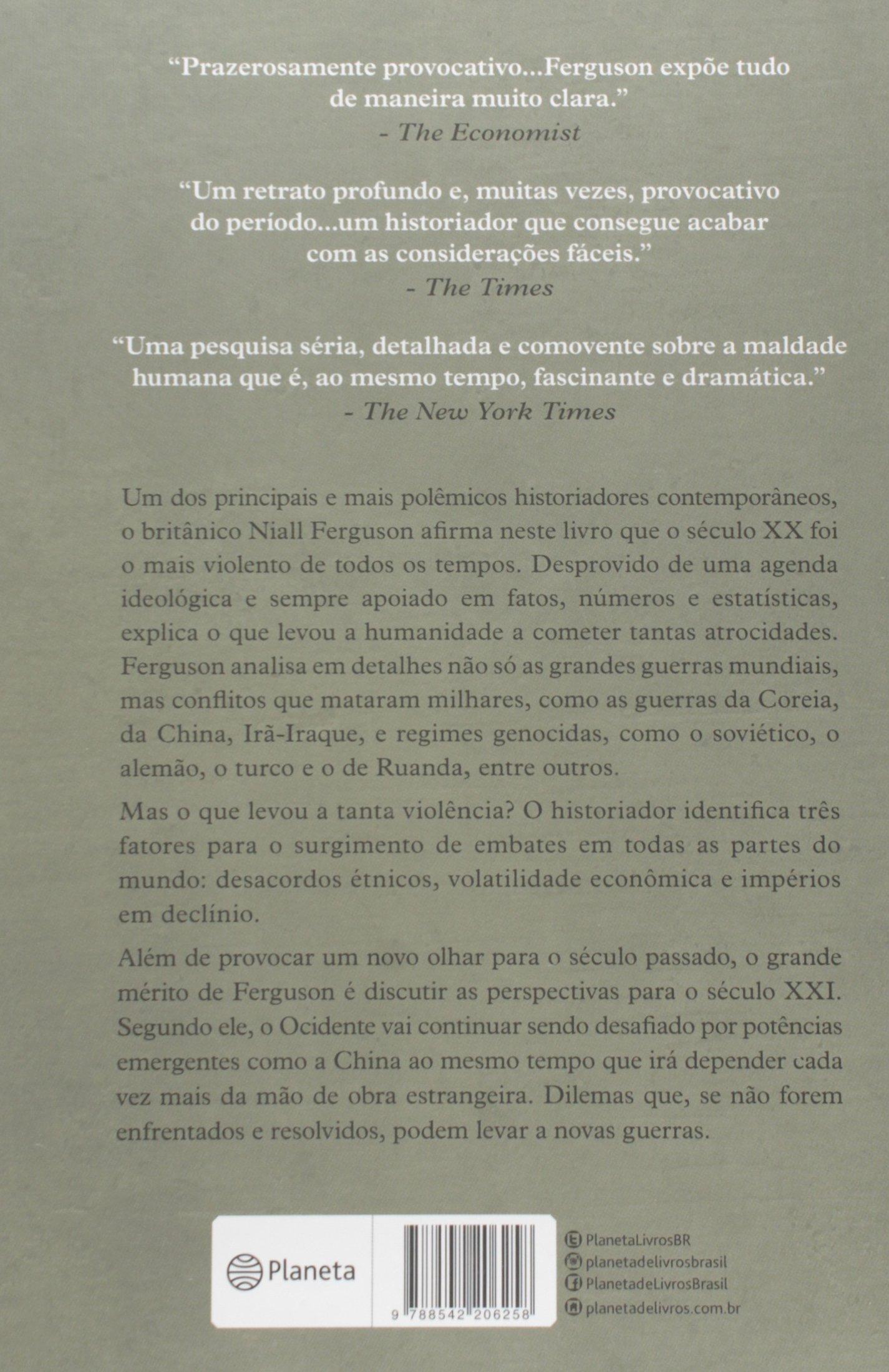 A Guerra do Mundo (Em Portuguese do Brasil): Niall Ferguson ...