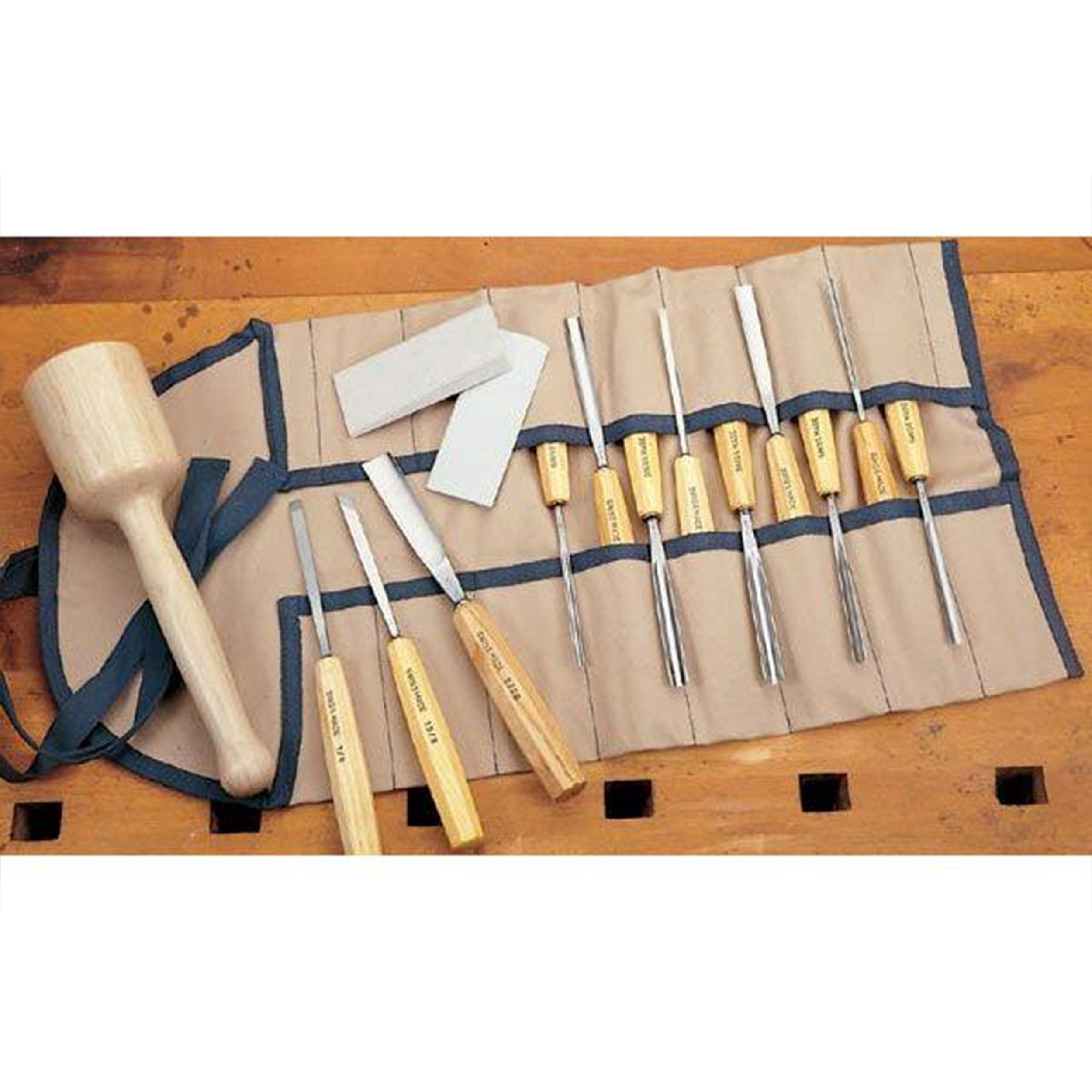 PFEIL ''Swiss Made'' Carving Set, PFEIL Professional, Complete Set by pfeil Swiss made