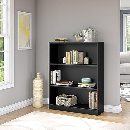 Attractive Bush Furniture WL12437 03 Universal Bookcase, Classic Black