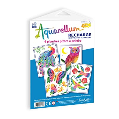 Funfrag - Sentosphère Aquarellum Junior In The Park Refill Pack: Juguetes y juegos