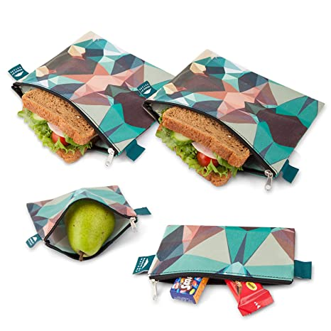 Amazon.com: Bolsas para sandwich Nordic By Nature, Casual ...