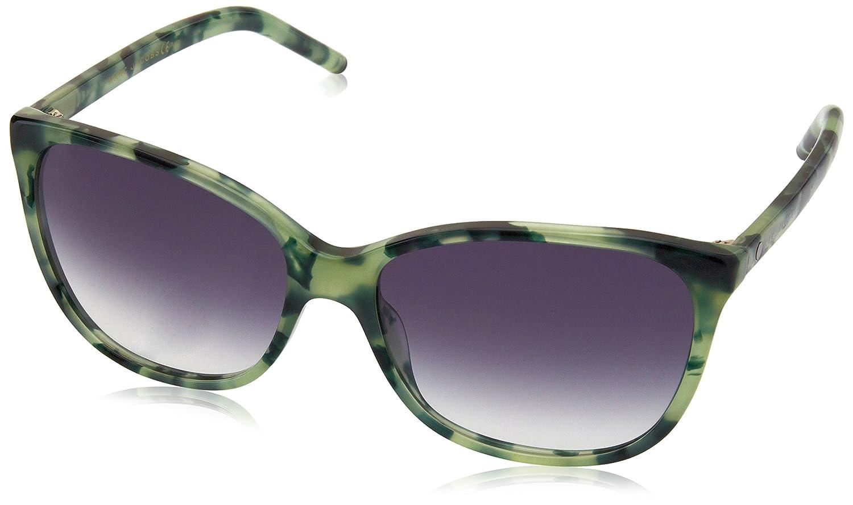 Marc Jacobs Marc 78/S BB U1S 57 Gafas de Sol, Verde (Green Havana/Grey SF), Mujer
