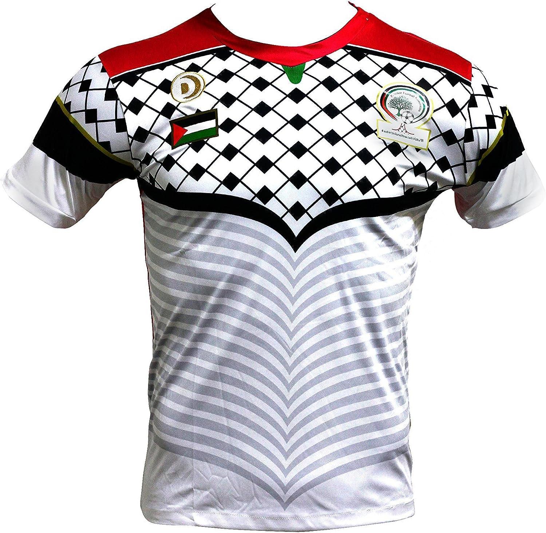 Carne de cordero Negar índice  Maillot de foot Palestina cz228 blanco blanco XL: Amazon.es: Ropa y  accesorios