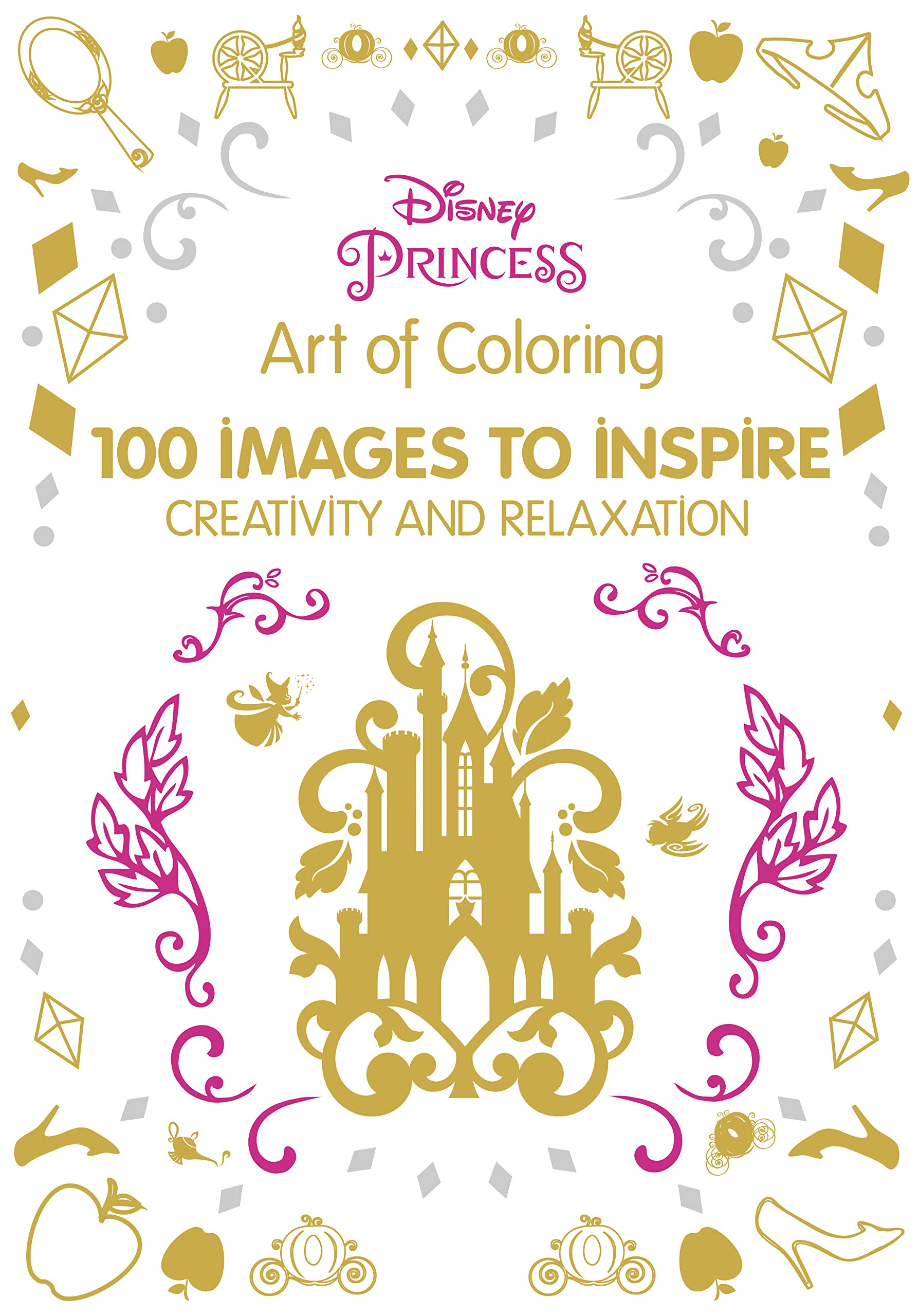 awesome Disney Princess Signature Colors Part - 15: Art of Coloring Disney Princess: 100 Images to Inspire Creativity and  Relaxation (Art Therapy): Catherine Saunier-Talec, Anne Le Meur:  0725961057404: ...