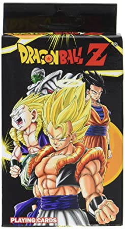 Dragon Ball Z Playing Cards: Amazon.es: Juguetes y juegos