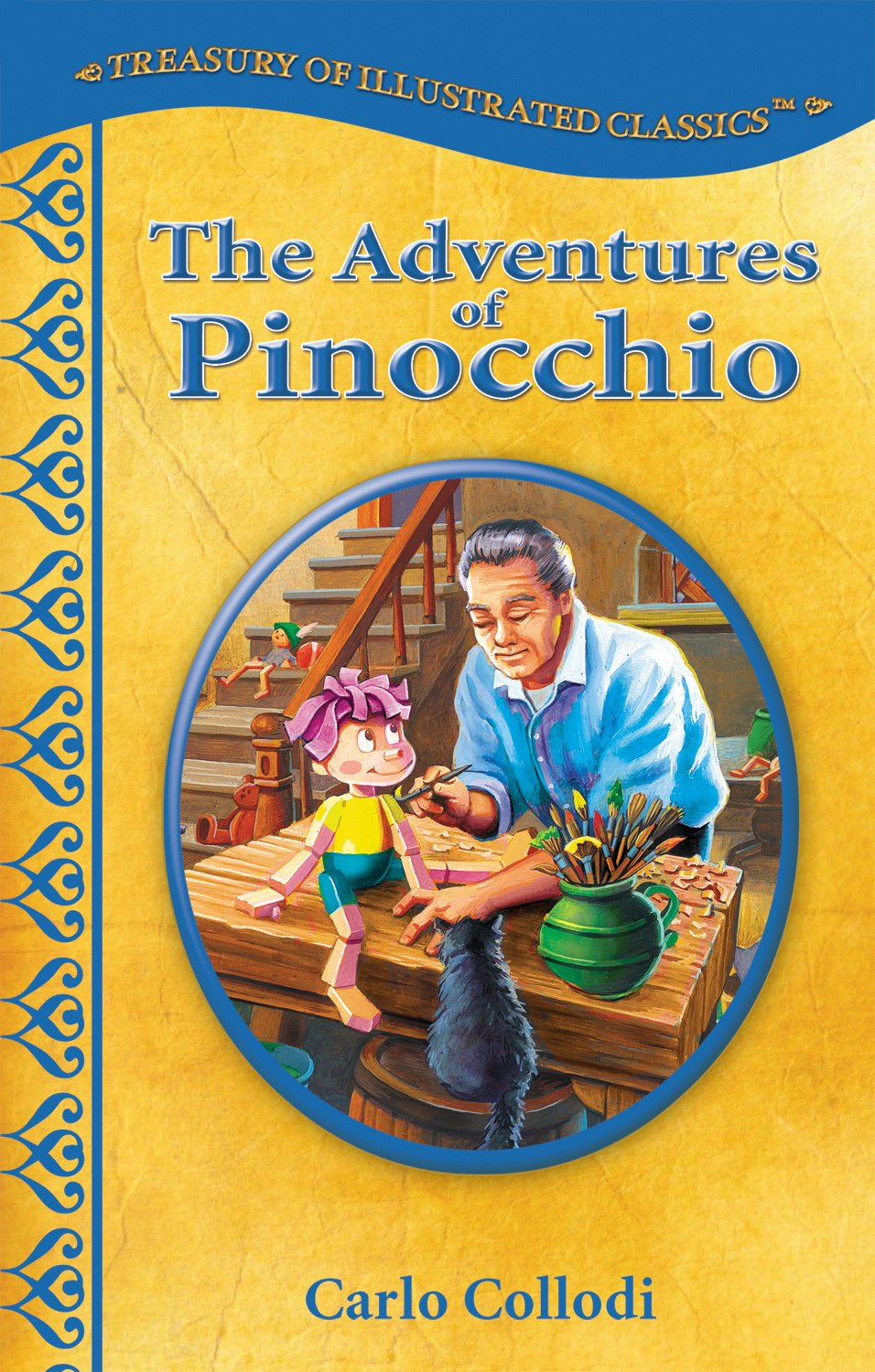The Adventures of Pinocchio-Treasury of Illustrated Classics Storybook Collection PDF