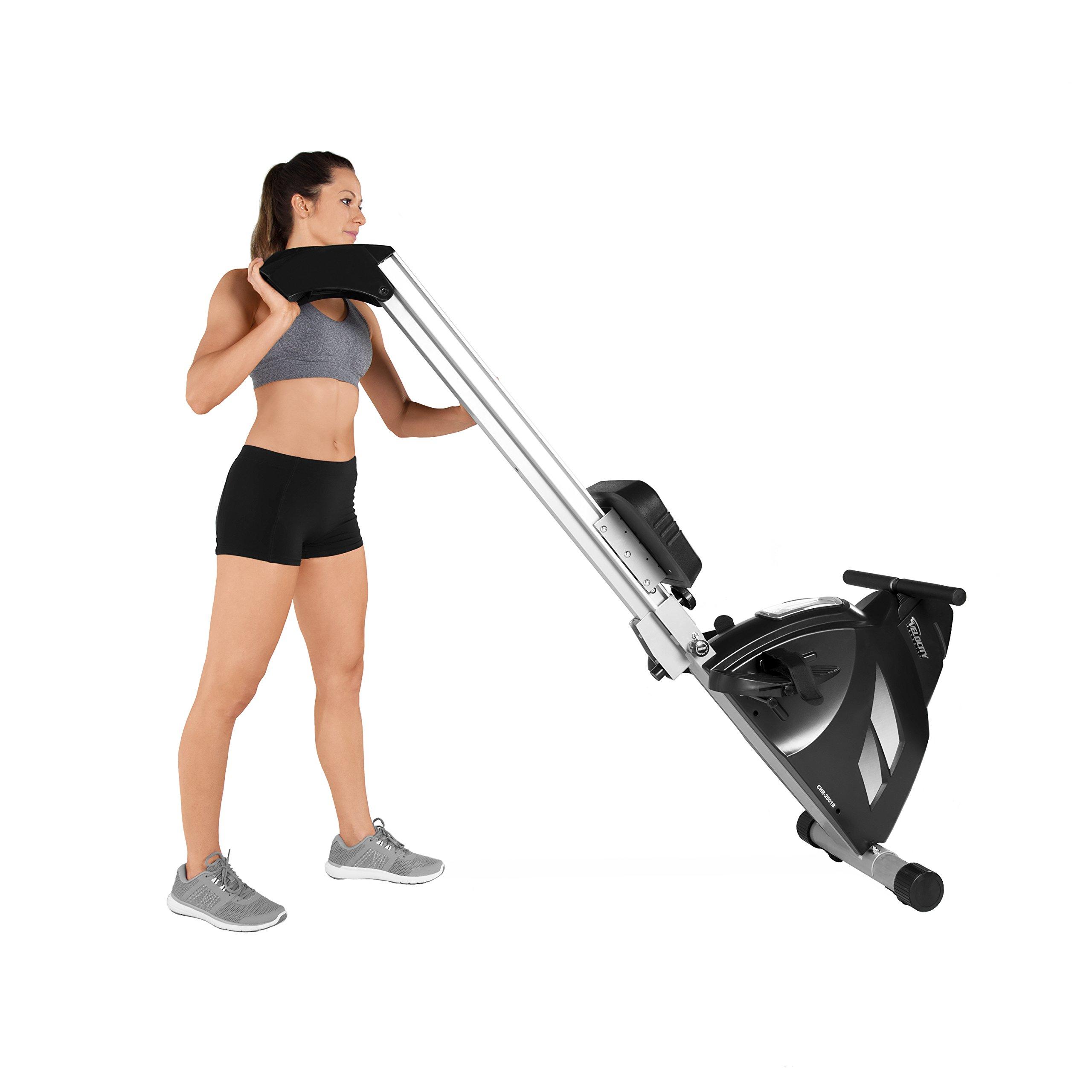 Velocity Exercise Magnetic Rower, Black by velocityexercise (Image #6)