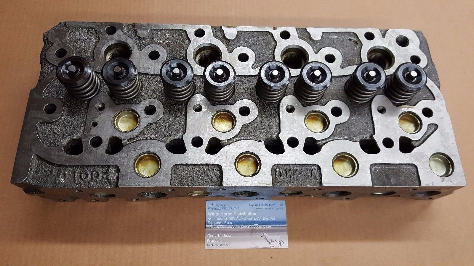 Kubota Generators GV3170, GV3190 V1902 Diesel Cylinder Head 15476-03040
