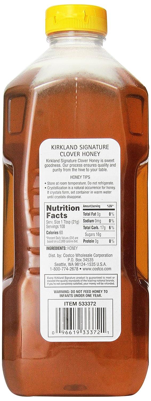 amazon com kirkland signature pure honey 5 pound grocery