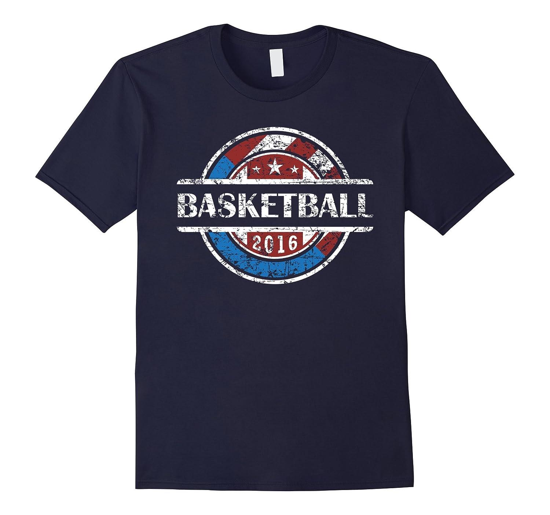 American Flag Basketball 2016 Shirt 2, USA Gift, Bball Team-BN