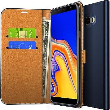 Yocktec Samsung Galaxy J4 Plus Funda, Funda de Billetera con Tapa ...