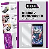 dipos OnePlus 3 Schutzfolie (6 Stück) - kristallklare Premium Folie Crystalclear