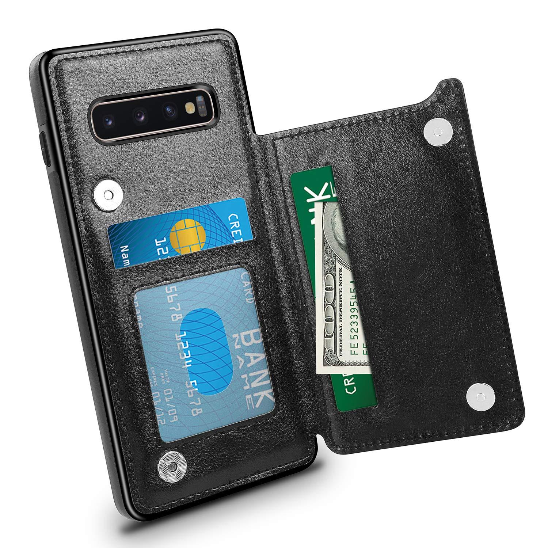 Funda Para Samsung S10 Plus Cuero Hiandier (7p418q56)