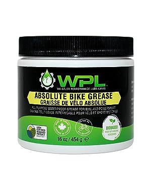 WPL Grasa absoluta para bicicleta, grasa multiusos para montaje, biodegradable, biológica y no tóxica, fórmula para un mantenimiento superior de bicicleta de carretera y montaña