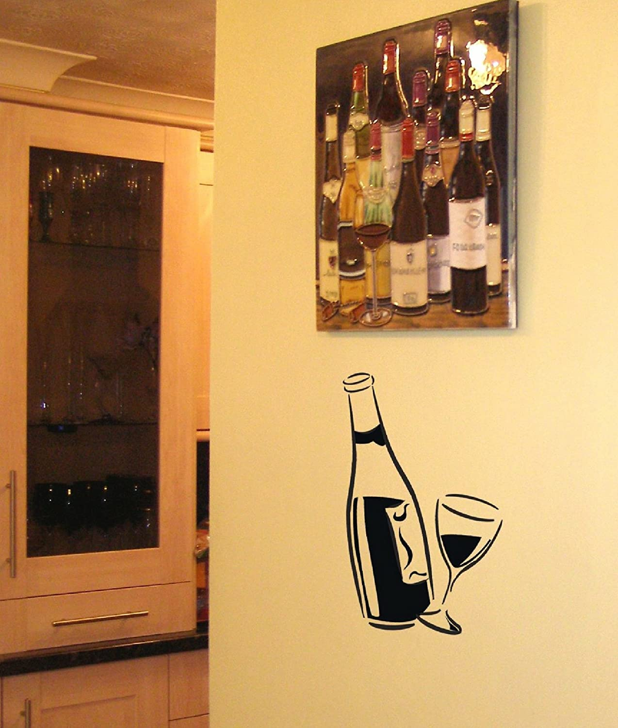 Perfect Wall Decor Wine Bottles Mold - Wall Art Collections ...