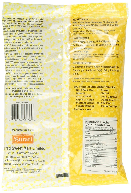 Amazon.com : Surati ChannaDal 341 gram : Indian Food : Grocery & Gourmet Food