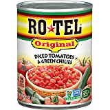 Rotel, Diced Tomatoes with Green Chiles, 10 Oz