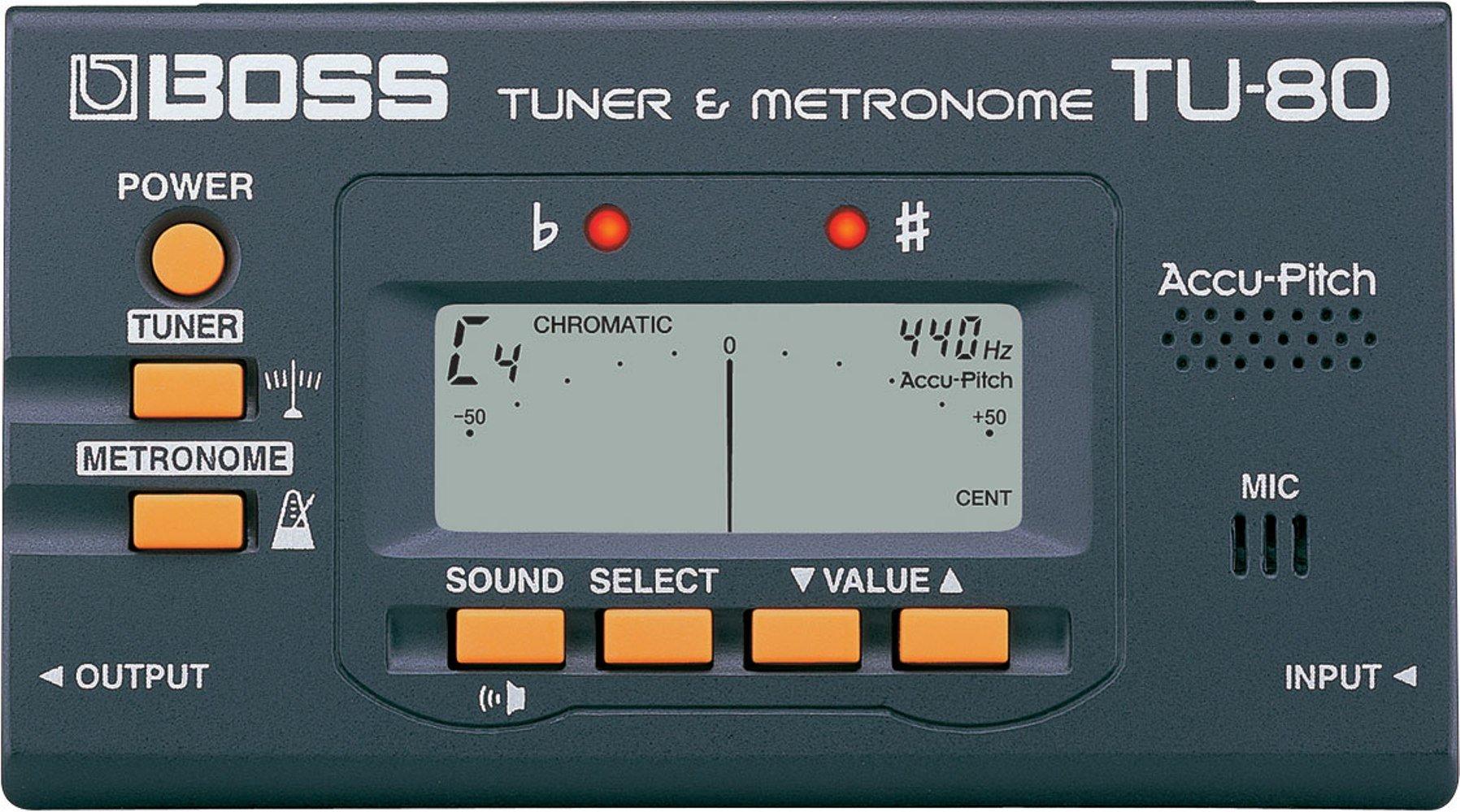 Roland TUNER & METRONOME TU-80