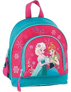 1d625588fff84 Disney Frozen - Die Eiskönigin Elsa Anna Olaf Rucksack Kinderrucksack (DKD)  mit Hauptfach und