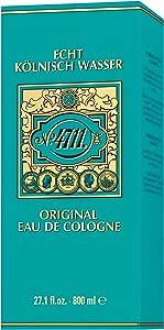 Muelhens 4711 Eau De Cologne, 800 milliliters