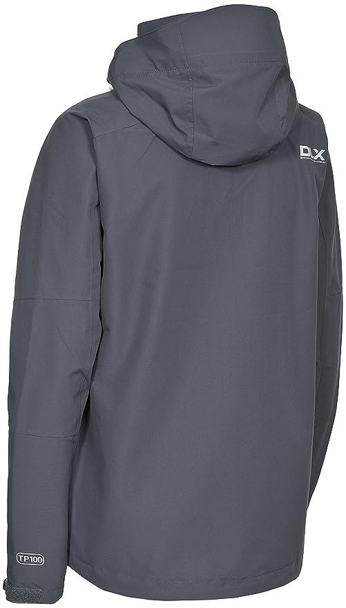 Trespass MARTINA DLX Da Donna Giacca impermeabile traspirante cappotto di pioggia con cappuccio