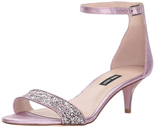 ea2de08f6b9 Nine West Women's Leisa Metallic Heeled Sandal