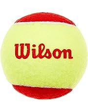 Wilson Tennisbälle, Starter Red, 12er Pack, Gelb/Rot, Für Kinder, WRT137100