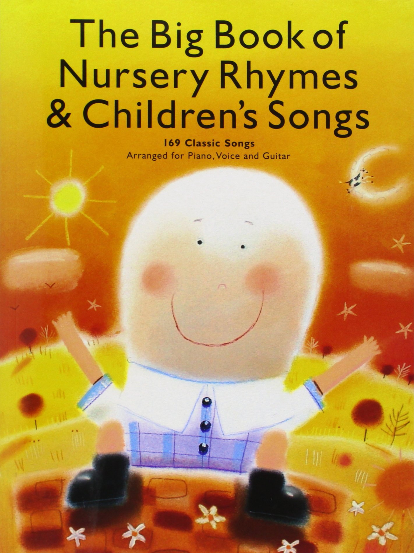 Amazon The Big Book Of Nursery Rhymes And Childrens Songs Pv