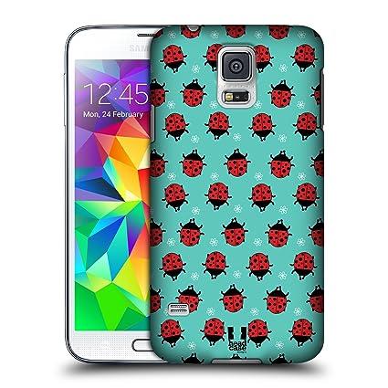Amazon.com: Head Case Designs Cyan Ladybug Bugged Life Hard ...
