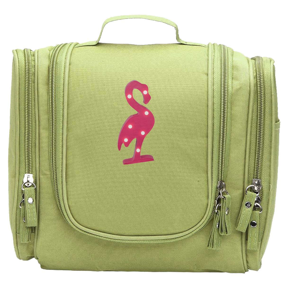 Amazon.com: Lampara Flamingo Large Travel Makeup Bags ...