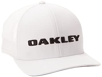 Oakley GOLF TRUCKER - Gorra de golf para hombre, color blanco, talla Talla única