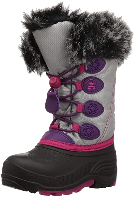 a9247f4146fa8 Kamik Girls  Snowgypsy Snow Boot Silver 8 Medium US Toddler