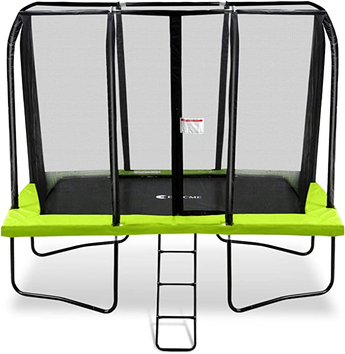 Exacme 7x10 Foot Rectangle Trampoline - The Best For Small Kids